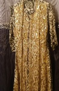 CLEARANCE Sale! $50. Indian Salwar Sequined